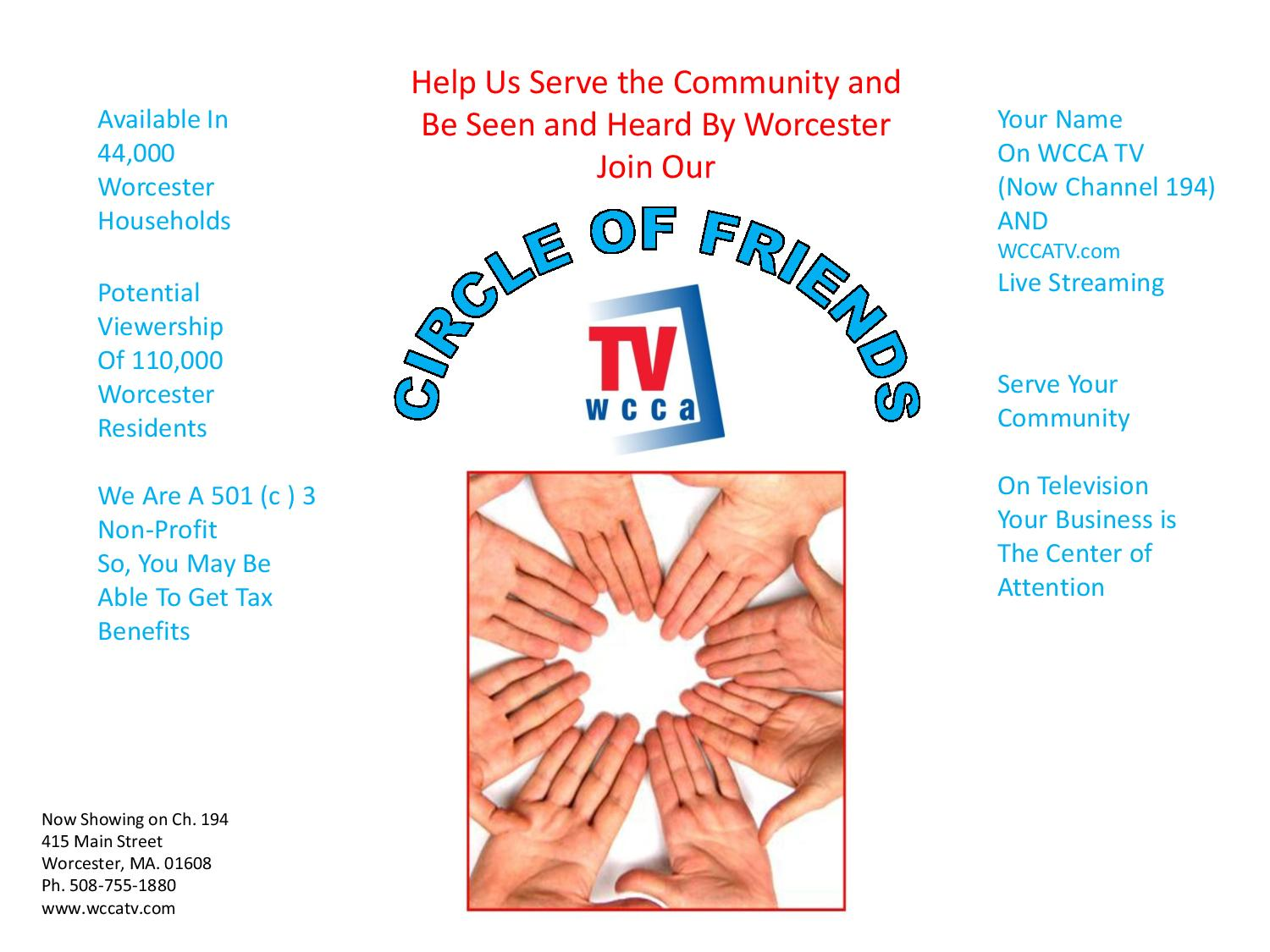 Circle Of Friends Packet 7 13 15 Distribute Pdf Version Page 001